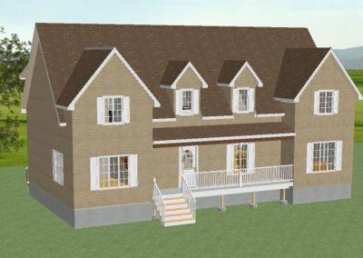 Projet résidentiel - Maison à pignons