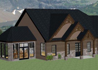 Projet résidentiel - Maison avec verrière