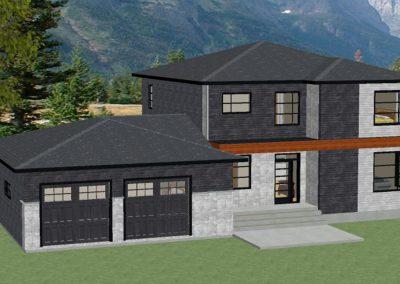Projet résidentiel - Maison moderne