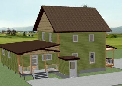 Projet résidentiel - Maison de campagne