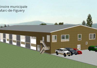 Projet commercial - Patinoire municipale